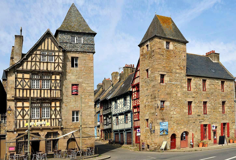 Tréguier, ville historique